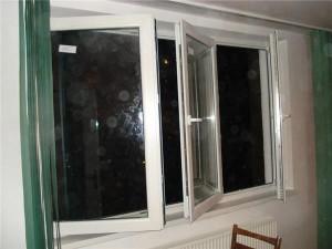 fereastra pvc in 3 canate cu 3 deschideri