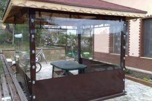 Inchidere terase si foisoare cu folie transparenta