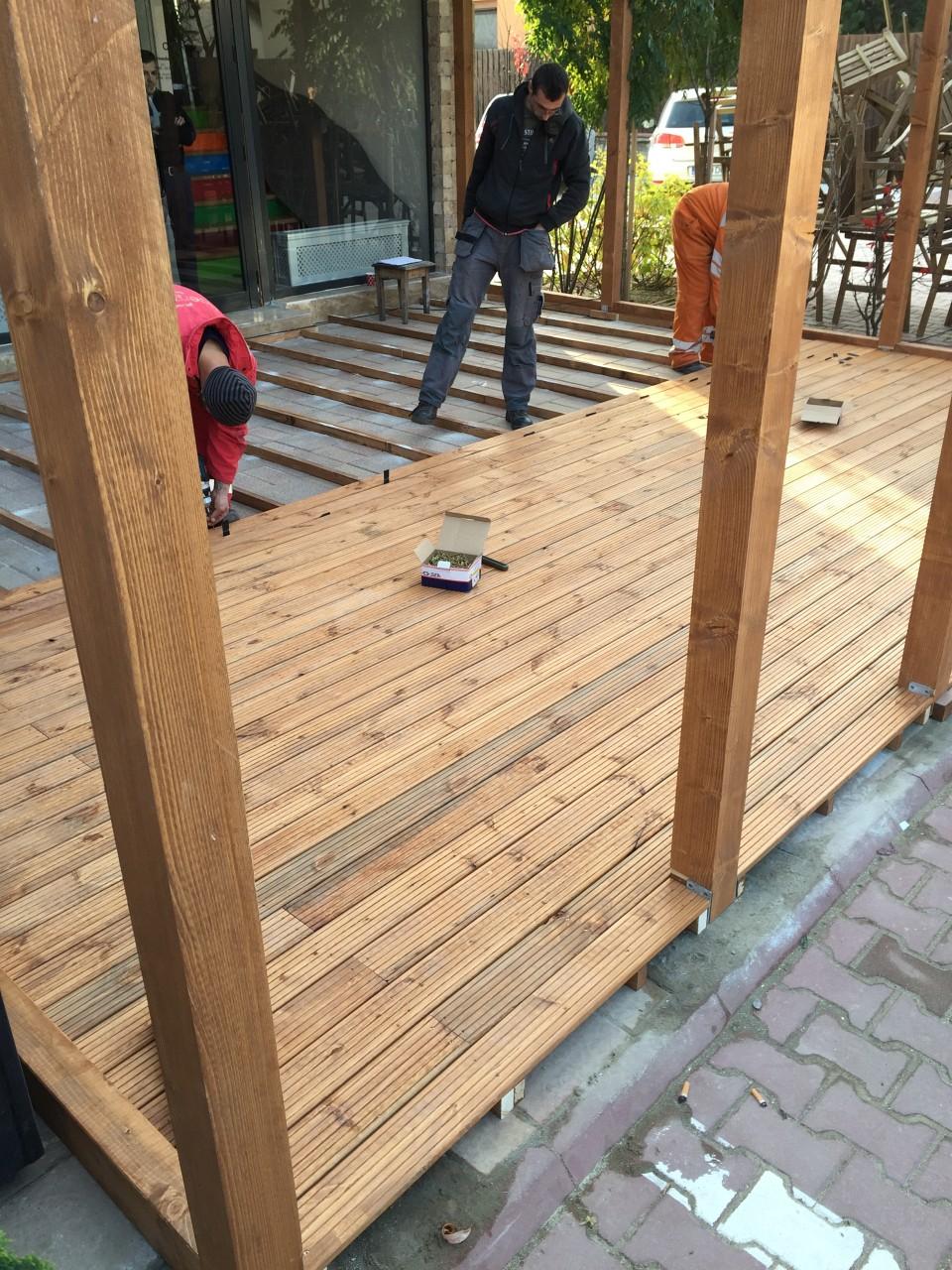 Constructie Terasa Din Lemn Axagroupsrl Ro 005
